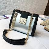 新しい方法デザインHandbag輝いたロックのメッセンジャーのショルダー・バッグPUの女性
