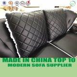 Klassisches Luxuxentwurfs-Chesterfield-echtes Leder-Sofa
