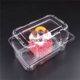 Customized Transparent Plastic Pet Bakery Cakes Packaging Box Food Blister Container