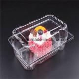 Подгонянная коробка торта коробки прозрачного пластичного торта хлебопекарни любимчика упаковывая