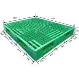48 x 45 Zoll-zweiseitiger Stahl verstärkte Plastikladeplatte