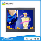 10.4 schermo del contrassegno dell'affissione a cristalli liquidi Digitahi di pollice con la scheda di deviazione standard del USB (MW-103ABS)