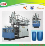 Grosses Blau Barrels Strangpresßling-Blasformen-Plastikmaschine