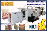 Transversale inférieure à la machine sacs papier, papier sac d'épicerie Making Machine Machine, KFC SAC
