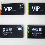 Logotipo e máquina de impressão da caixa do telefone do cartão da identificação do PVC com Ce