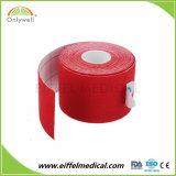 La fabricación de medicina Kinesiología deportiva cinta con pegamento de alta