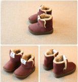Снежок малышей Boots ботинок плюша детей теплый