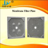 Placa de filtro prensa de membrana resistente