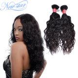 Человеческие волосы девственницы Remy китайской естественной волны оптовой цены реальные