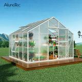 El invernadero de cristal prefabricó los invernaderos usados jardín del diseño del invernadero de los invernaderos del jardín para la venta