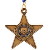 Die Casting Medalha Souvenir de metal de alta qualidade com fita