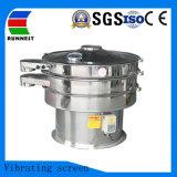 Plena Stainsteel 304 o acero 316L Filtro de aceite de la criba de vibración ultrasónica