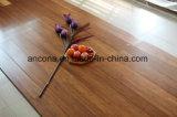 Suelo de bambú de interior tejido hilo manchado