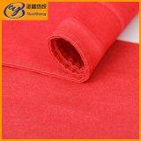 красная ткань джинсовой ткани Spandex полиэфира хлопка 7.9OZ