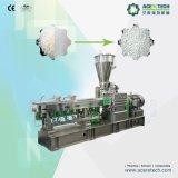 La extrusora de plástico de doble tornillo compuesto de carbonato de calcio de la línea de peletización