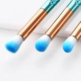 Профессиональные 10ПК/Set рыб и крюки Русалки форму макияж щетки Eyeshadow Eyeliner Foundation порошок окрашивание кромку перед лицом косметические Concealer Eyeliner весело щетки