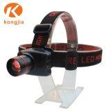 10Wアルミ合金強力な極度の明るいLEDの再充電可能なヘッドライト