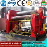 W12 nc ou CNC 4 rouleaux de fer de la plaque de cône de roulement dans le tube de la machine et la tôle de Tube Rolling Prix de la machine