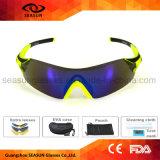 Los hombres de vidrio polarizado Avaitor protección UV de lentes intercambiables de conducción de ciclismo gafas de sol