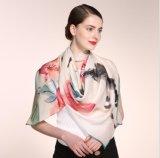 Подгоняйте шарф шелка конструкции 100% для повелительницы