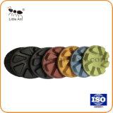 8 зубьев алмазных смолу для полировки пола подушки приспособления для полировки ремонт блока для мрамора гранита бетонный пол