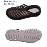 Популярные девочек ПВХ верхний сандалии с декоративными