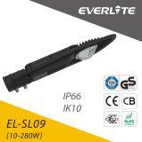 Iluminación al aire libre de aluminio de fundición a presión a troquel de la luz de calle de la cubierta LED 10-280W LED con precio competitivo