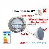 Indicatore luminoso RGB Piscina LED 12V 35W del raggruppamento di massaggio