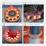 Materiais e máquina usados para o endurecimento de indução