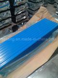 Todo el material para techos disponible revestido del metal del color de Ral para la construcción del almacén