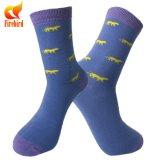 Leute-fantastische Socken-Baumwollmann-Kleid-Socken 100%