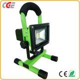 Il lavoro del LED illumina gli indicatori luminosi di inondazione esterni delle lampade IP65 10With20With30With50W LED ricaricabili
