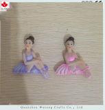 De Magneten van de Stijl van de Balletdanser van de Hars van de Magneten van de Koelkast van de Herinnering van de douane
