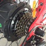 """26 """" 4.0 타이어 48V 350W 싼 전기 산 Ebike"""