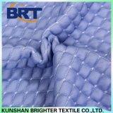 Color azul sensación de frescor de la capa de aire transpirable resistente al agua hoja montada