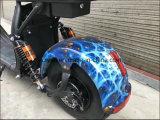 Velocidad eléctrica eléctrica de la vespa de la bici 1500W Harley del neumático gordo movible de la batería