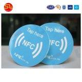 자산 추적을%s 서류상 롤 NFC Ntag 203 Ntag213 레이블 꼬리표 스티커