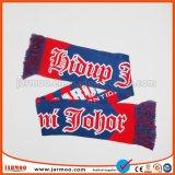 Os fãs de malha Cachecol de Inverno com logotipo de futebol