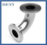 Coude serré par courbure sanitaire de couplage d'ajustage de précision de pipe d'acier inoxydable avec la norme de SMS/DIN (DY-015)