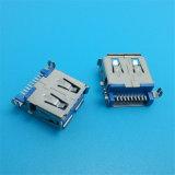 Boa qualidade 90 conetor do USB do Pin 3.0 da fêmea 9 do grau