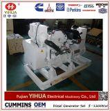 Cummins Engine 열린 구조 바다 디젤 엔진 발전기 세트 (37.5-500kVA/30-400kw)