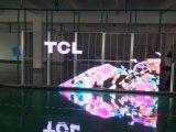 Farbenreiche P6.25 transparente LED Vorhang-Innenbildschirmanzeige für örtlich festgelegte Installation