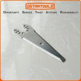 La puate d'étanchéité de oscillation d'acier inoxydable calfeutrent la lame de couteau de déplacement