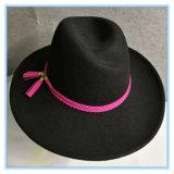 형식 Hat 겨울 동안 넓은 테두리 중절모 Trilby 숙녀