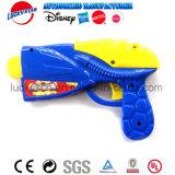Het Plastic Stuk speelgoed van het Kanon van de Zandstraler van de Raket van de Actie van de pomp voor de Bevordering van het Jonge geitje