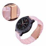 De heet-verkoopt Roze Riem van het Horloge van de Hars voor Speciale de Band van het Horloge van het Toestel van Samsung S3