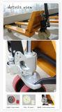 Стабильной ручной гидравлический погрузчик для транспортировки поддонов