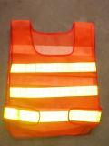 L'alta visibilità arieggia la maglia di sicurezza riflettente a Guangzhou