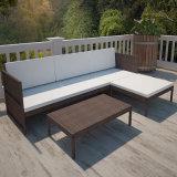 Tabella calda di Setwith del sofà del rattan del patio di vendita per esterno