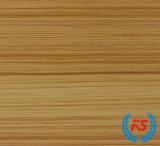 Papier en bois d'Impregnatde de mélamine de modèle des graines de teck pour les forces de défense principale HDP
